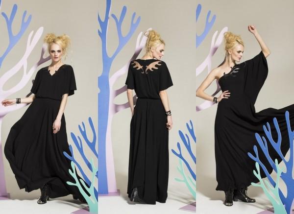 элегантные платья, пыльник и толстовки