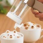 Гаджет для создания объемных фигур на кофе