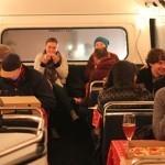 Пиццерия в двухэтажном автобусе
