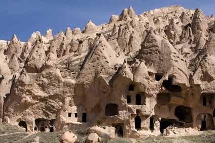 древний подземный город