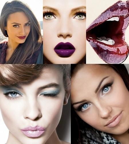 модный макияж для брюнеток