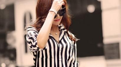 стильные полосы в одежде