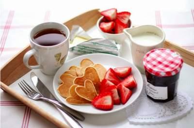 сладкие завтраки для стройной фигуры