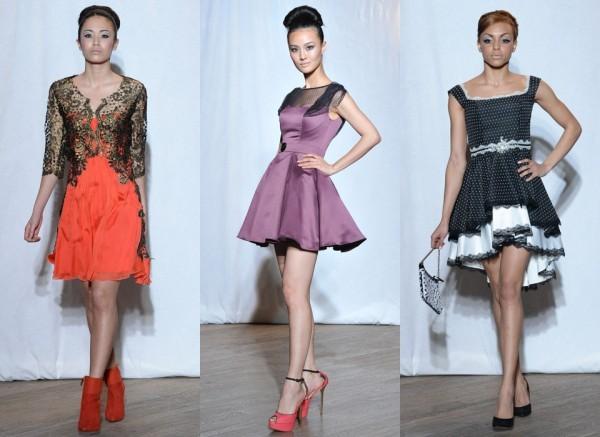 На фото: Короткие вечерние платья «Мисс Полли», Christophe Guillarmé; Nicola Gleichauf/ Frank Barylko