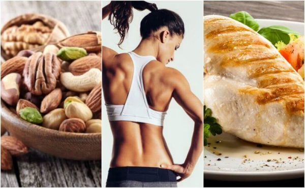 накачать мышцы
