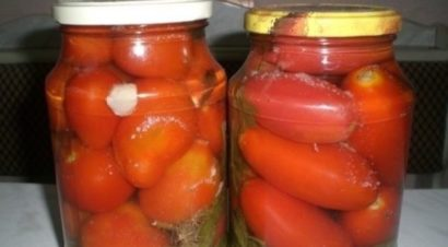 помидоры по-болгарски без уксуса