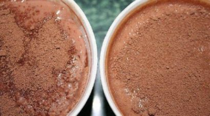 кисель шоколадный