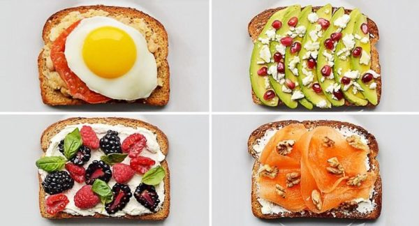 Бутерброды для сластен приготовление