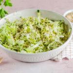 Салат из пекинской капусты с кунжутом
