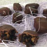 Шоколадно-фруктовые конфеты с алкоголем