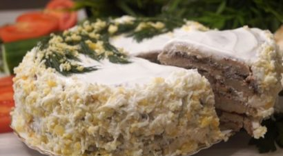 Торт закусочный